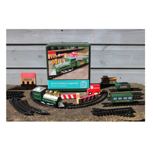 Great Railway Express Toy in a Tin - Toys will be Toys