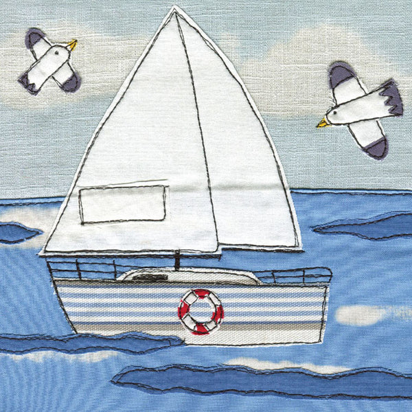 Greetings Card Sailing Boat - FREE DELIVERY - Toys will be Toys