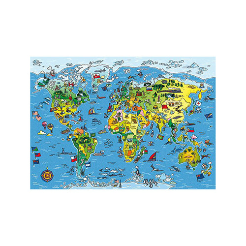 World map jigsaw puzzle world map jigsaw puzzle box world map jigsaw puzzle contents gumiabroncs Images