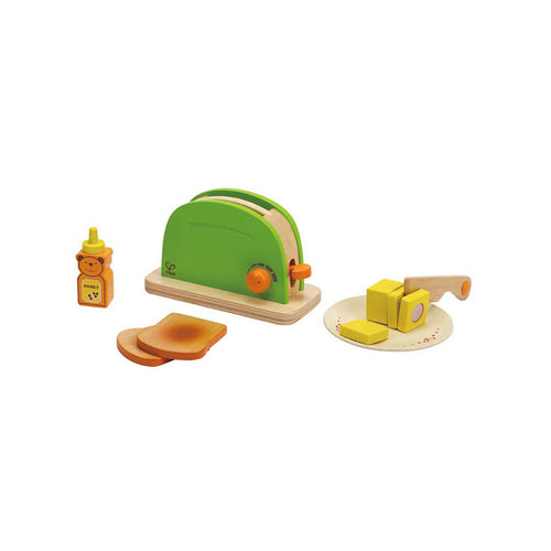 Wooden Toaster Set - Toys will be Toys