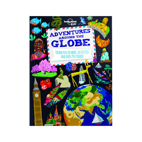 Adventures Around the Globe Activity Book - FREE DELIVERY - Toys will be Toys