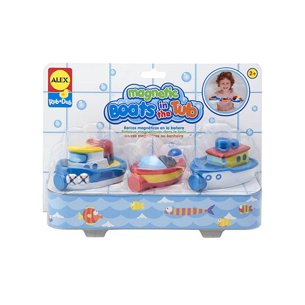 Boats in the Tub Bath Toy