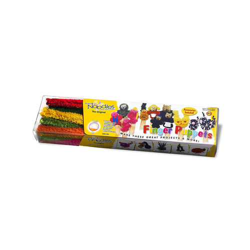 Brain Noodle Finger Puppet Kit packaging