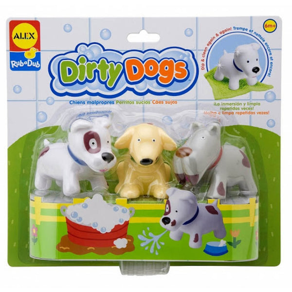 Dirty Dogs Bath Toy