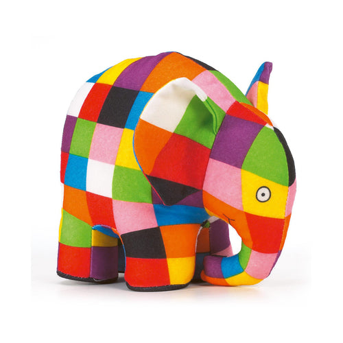 Large Elmer Soft Toy - Toys will be Toys