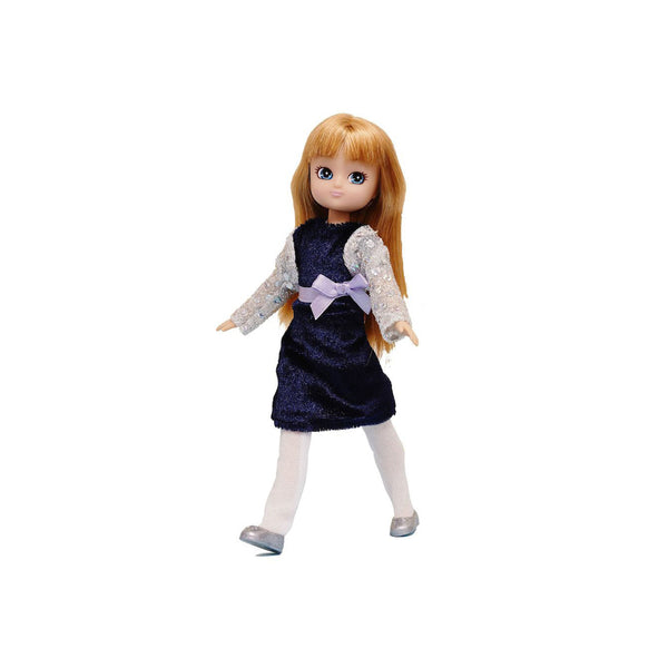 Lottie Doll Outfit Blue Velvet - Toys will be Toys
