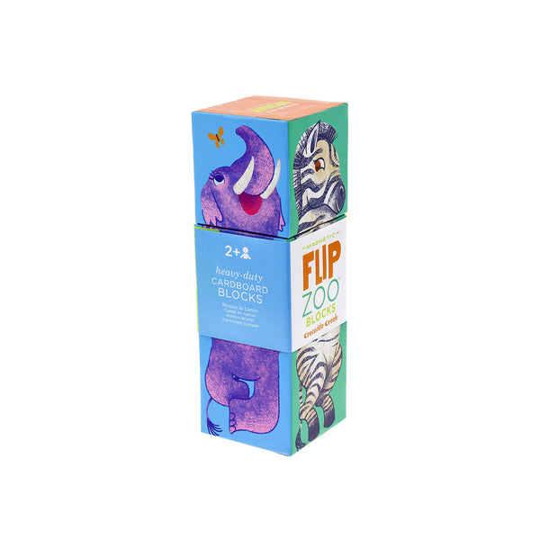 Flip Zoo Magnetic Blocks - Toys will be Toys