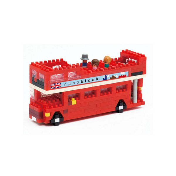 Nanoblock London Tour Bus - Toys will be Toys