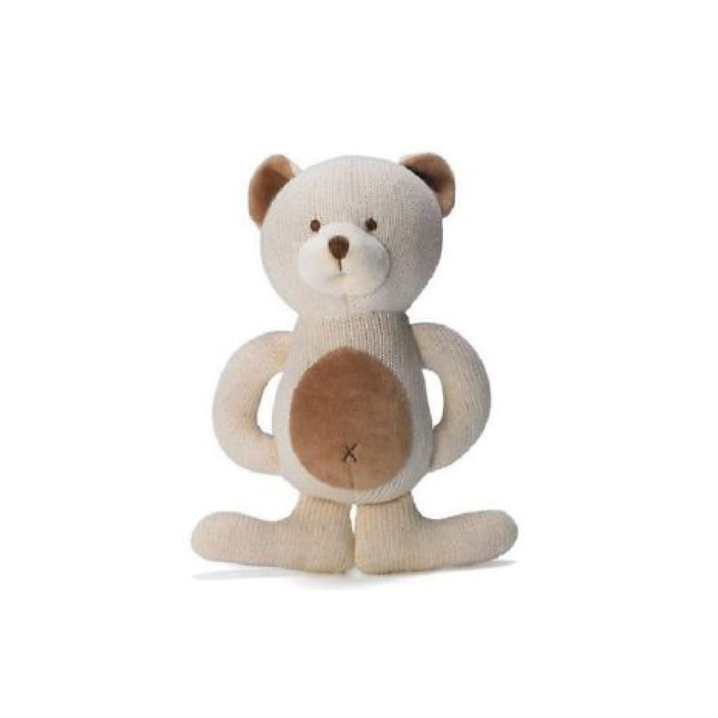 Organic Teddy Teether - Toys will be Toys
