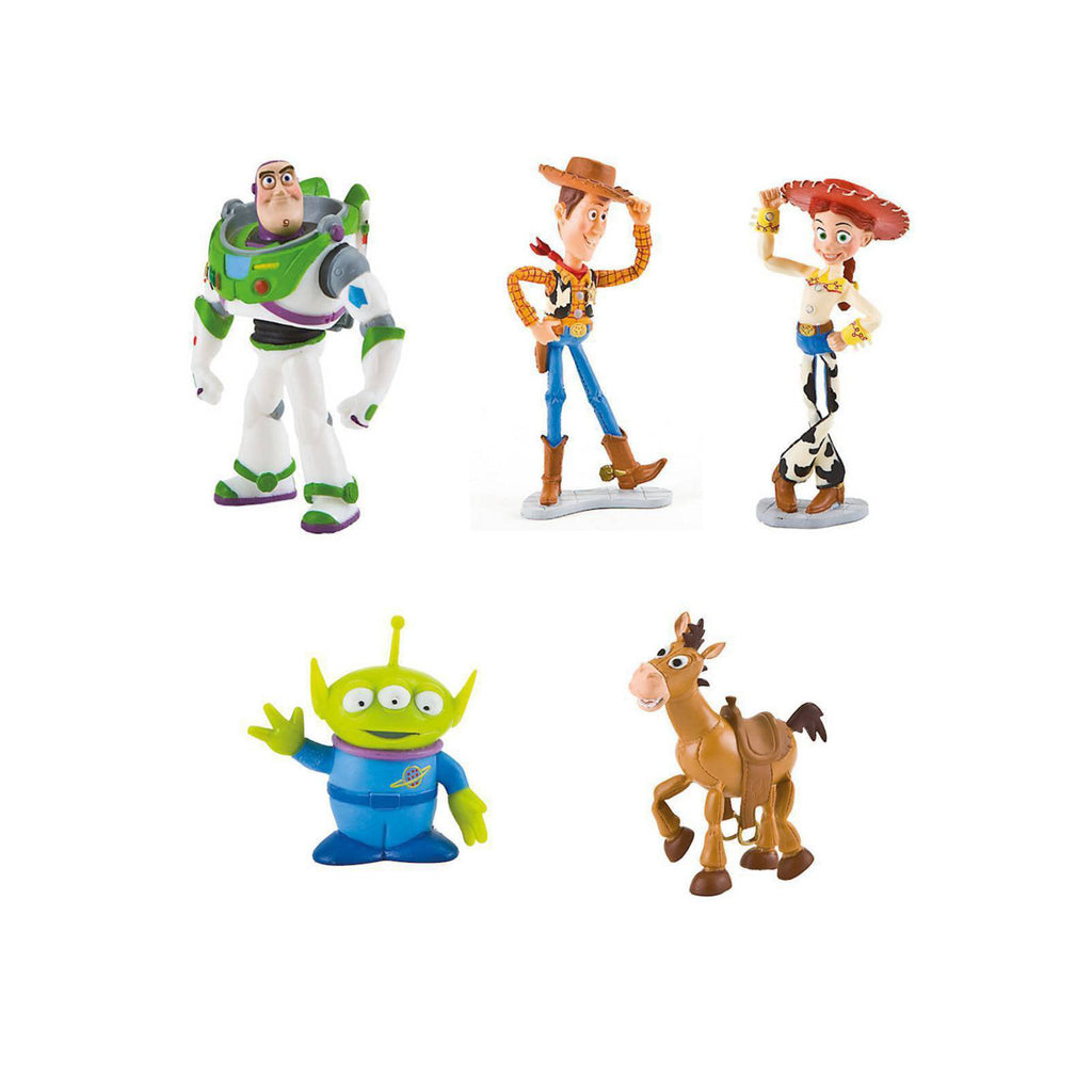 Toy Story Figures - Toys will be Toys