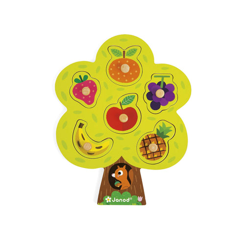 Wooden Puzzle - Fruit Tree