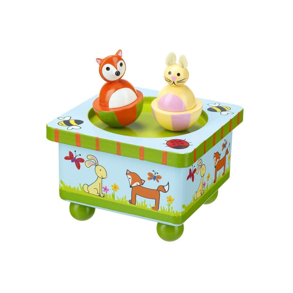 Woodland Friends Wooden Music Box - Toys will be Toys