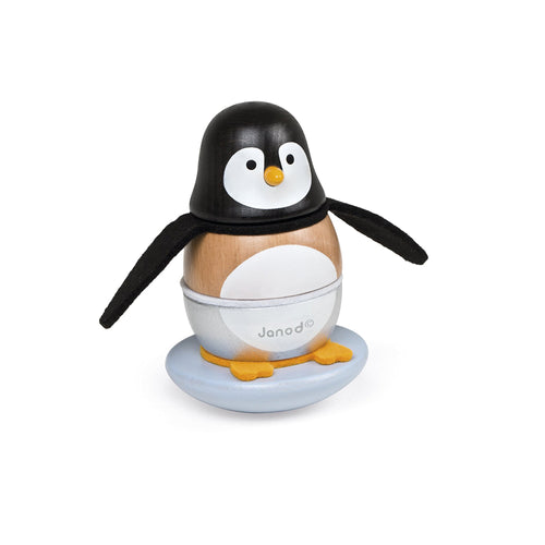 Janod Wooden Penguin Stacker
