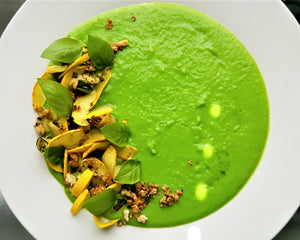 pea soup by chef's satchel