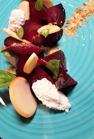 beet salad by chef's satchel