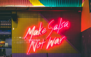 Make boozy salsa, not war!