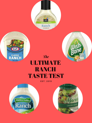Taste test of ranch by chef's satchel team