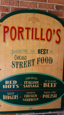 Portillos with chef's satchel