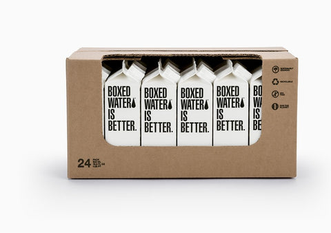 boxed water for eco friendly packaging