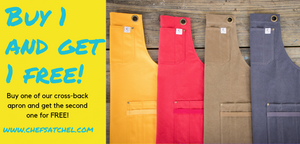 Chef ware, aprons and knife rolls | Chef's Satchel