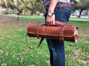 Chef's satchel knife roll