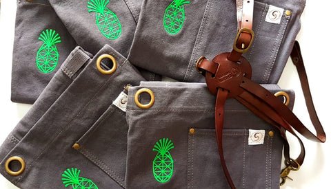 custom embroidery by chef's Satchel