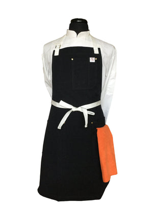 Chef's Satchel black aprons