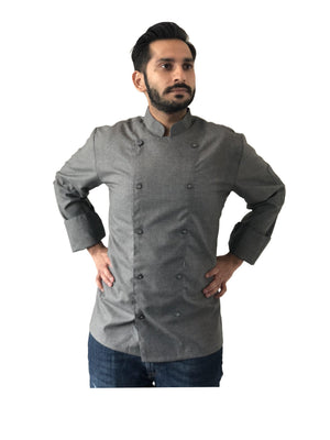 Gray Chef Coats | Chef Satchel