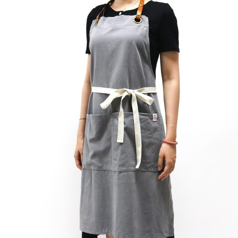 Leather strap Ash apron