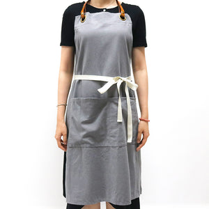 Handmade aprons for baristas or artists
