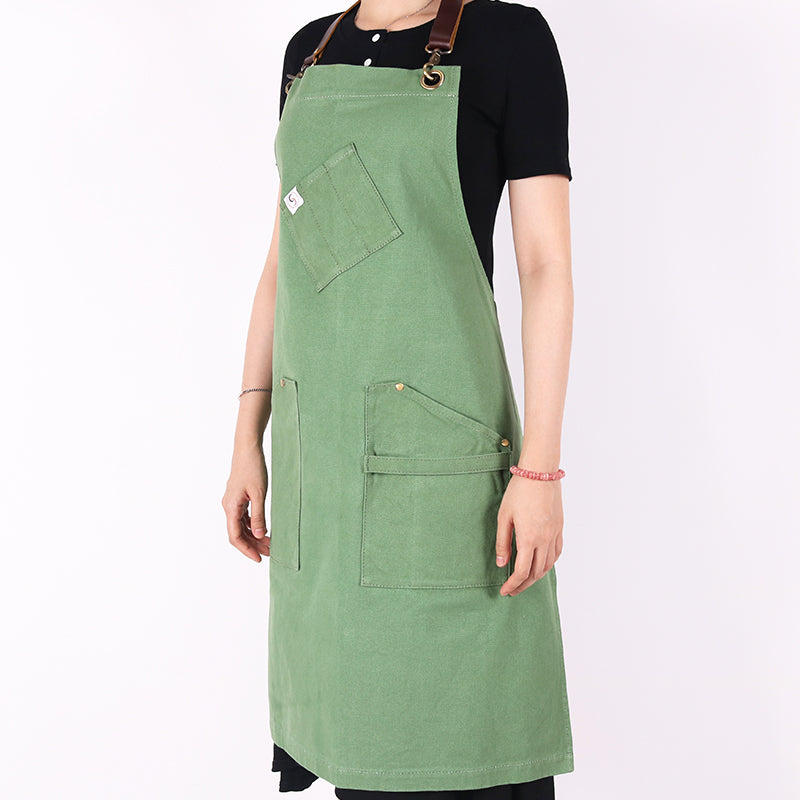 Handmade apron for chefs and coffee shops