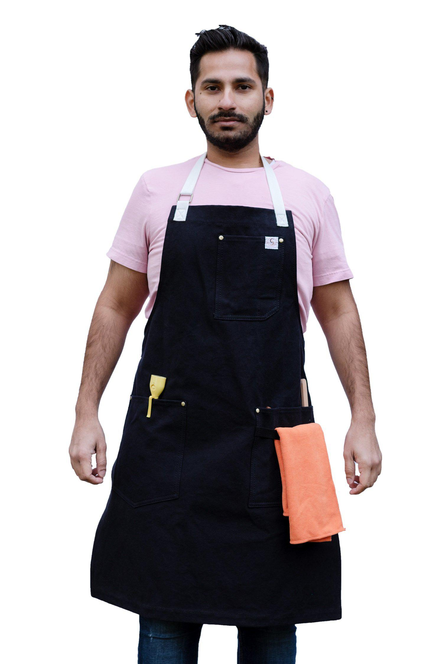 handmade hip handcrafted aprons for chefs