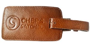 Leather Tags | Chef Satchel - Chef's Satchel
