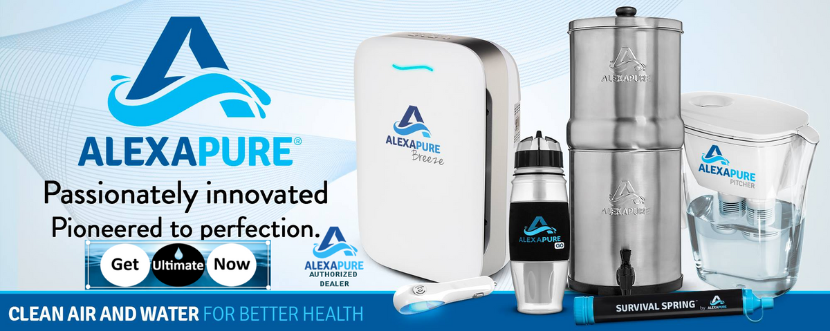 Alexapure Water Filtration Products