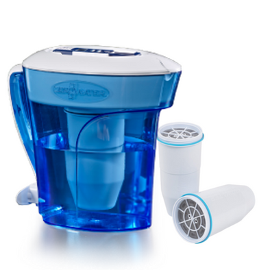 Zerowater 10 cup pitcher with extra two filters