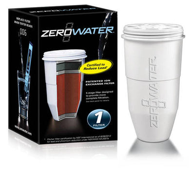 Zerowater Zr001 OnePack Water Filter Replacement Cartridge (1 Pack) (Pack of 5)get-ultimate-now.myshopify.com
