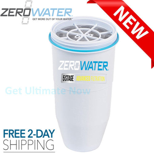 Zerowater Pitchers Replacement Filter Whiteget-ultimate-now.myshopify.com