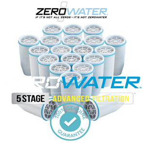 ZeroWater Genuine Replacement Filter For Pitchers & Dispenser (20 Pack)