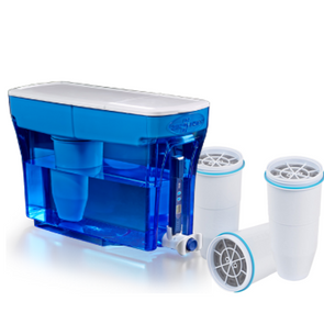 Zerowater 23 cup dispenser with extra three filtersget-ultimate-now.myshopify.com