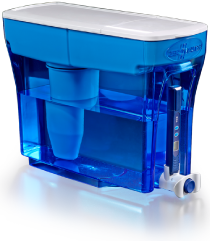 Zerowater 23 cup dispenser with filter