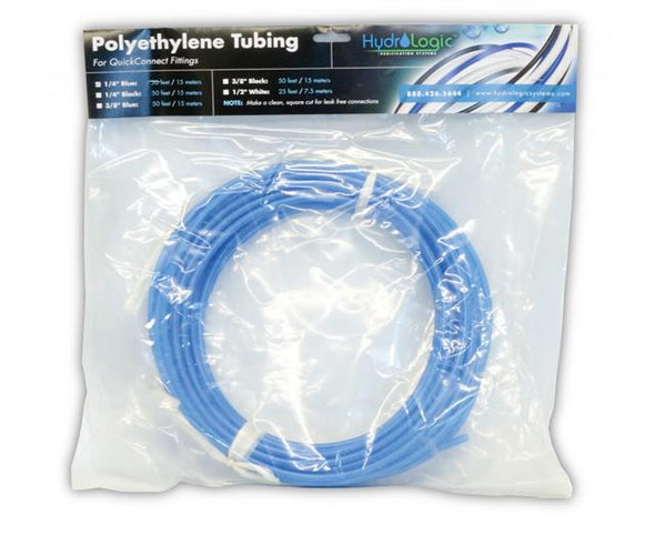 "Hydrologic Polyethylene Tubing, 50', Blue, 1/4""get-ultimate-now.myshopify.com"