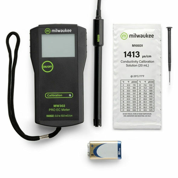 Milwaukee MW302 PRO High Range Conductivity Meter