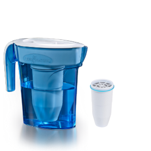 Zerowater 6 cup pitcher with extra one filterget-ultimate-now.myshopify.com