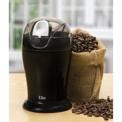 Elite Cuisine ETS-630B 150-Watt 4-Ounce Coffee Grinder, Blackget-ultimate-now.myshopify.com