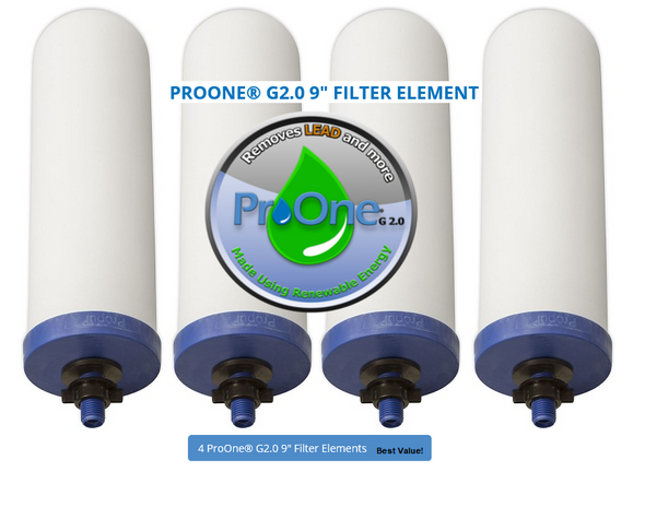 Propur 9 inch G2 Filter 4 filters Best valueget-ultimate-now.myshopify.com