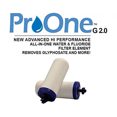 Propur - Best ProOne 5-Inch G2.0 Home Water/ Flouride Filter Elements/ Filtration System (Set of Two)get-ultimate-now.myshopify.com