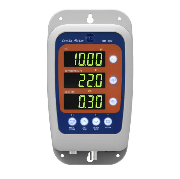 HM Digital Continuous pH/EC/TDS/Temp Monitor HM-100get-ultimate-now.myshopify.com