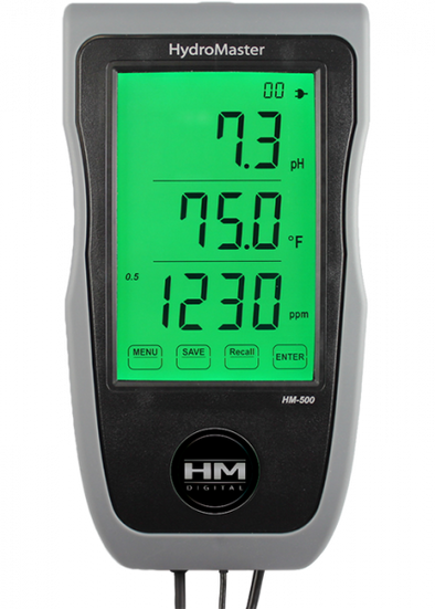 HM Digital HM-500 HydroMaster Continuous pH/EC/TDS/Temp Monitorget-ultimate-now.myshopify.com