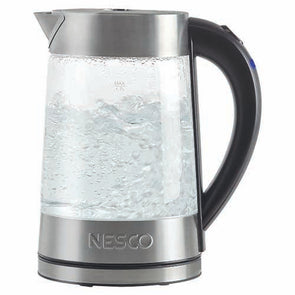 Nesco 1.8-Qt. Electric Glass Water Kettle - 1500W - Get Ultimate Now