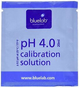Bluelab 4.0 pH Calibration Solution, 20 mlget-ultimate-now.myshopify.com